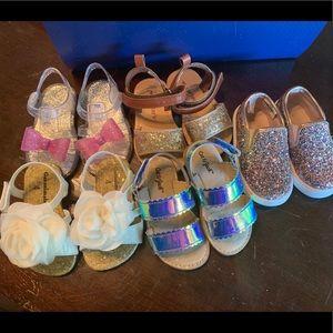 Baby Girl size 4-5 Shoe Bundle